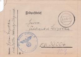 Feldpost WW2: From Infanterie Schule Lehrgang 2 In Döberitz-Elsgrund To 1. Kompanie Leichte Radfahr-Strassen-Bau-Bataill - Militaria