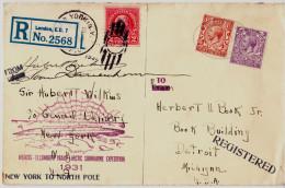 1931 - Wilkins - Ellsworth Trans-Arctic Submarine Expedition - New York To North Pole - Spedizioni Artiche
