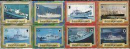 GN0141 Virgin Islands 1986 Shipping 8v MNH - Iles Vièrges Britanniques