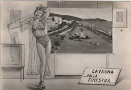 GENOVA -  LAVAGNA - DALLA FINESTRA - Genova