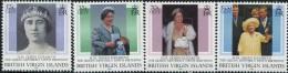 GN0170 Virgin Islands 2000 Queen Mother's Birthday 4v MNH - Iles Vièrges Britanniques