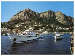 (567 ORL) Shipping - Bateau - Ship - Capri Marina Grande And Ships - Traghetti
