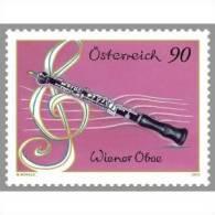 AUSTRIA ÖSTERREICH 2012 Wiener Oboe  MNH / ** / POSTFRISCH - 1945-.... 2ème République