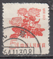 China-prc    Scott No. 391   Used    Year  1958 - Used Stamps
