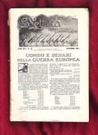 Uomini E Denari Nella Guerra Europea Di Luigi Einaudi, Dicembre 1914 - Oorlog 1914-18
