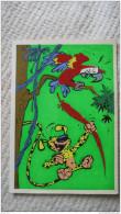Franquin Spirou Marsupilami Robbedoes Carte Postale Velours Feutrine Flock Indus 2011 Variante Verzamelkaarten Cp Cpsm - Tarjetas Postales