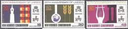 Nouvelles Hebrides 1966 Michel 248 - 250 Neuf ** Cote (2005) 3.00 Euro 20 Ans UNESCO - Légende Anglaise