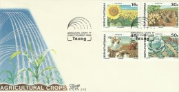 South Africa Bophuthatswana 1988 Agricoltural Crops FDC - Bophuthatswana
