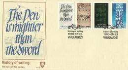 Venda 1990 History Of Writing FDC - Venda