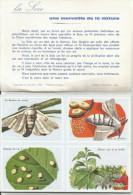 LIVRET VOLUMETRIX 1962 - LA SOIE - Fiches Illustrées