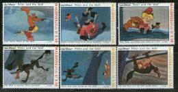 Maldive Islands 1993 Walt Disney Peter Pan Cartoon Cinema Animation Film Sc 1925 MNH # 3253 - Stamps