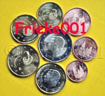 Spanje - Espagne - 1 Cent Tot 2 Euro Unc 2015. - Spagna