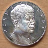 Médaille De John Fitzgerald Kennedy  ARGENT - Autres