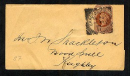 GB Postal Stationery Newspaper Wrapper WP16 Used 1894 Bradford Squared Circle To Keighley (W229) - Entiers Postaux