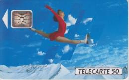 TELECARTE FRANCE : JEUX OLYMPIQUES D'ALBERTVILLE 1992  PATINAGE ARTISTIQUE - Jeux Olympiques
