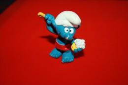 Figurine Peyo  Schtroumpf Qui Se Lave - I Puffi