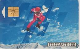 TELECARTE FRANCE : JEUX OLYMPIQUES D'ALBERTVILLE 1992  SKI ALPIN - Jeux Olympiques