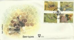 Venda 1992 Bees FDC - Abeilles