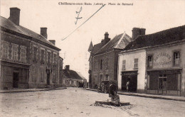Cpa  45  Chilleurs-aux-bois...place De Romand - Autres Communes