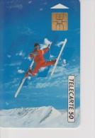TELECARTE FRANCE : JEUX OLYMPIQUES D'ALBERTVILLE 1992  SKI - Jeux Olympiques
