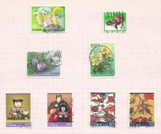 Japon N°1513 à 1520 Côte 4.20 Euros - 1926-89 Empereur Hirohito (Ere Showa)