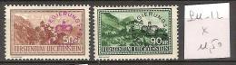 Liechtenstein Service 11-12 * Côte 11.50 € - Service
