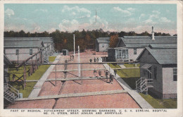 PART OF MEDICAL DETACHMENT STREET - SHOWING BARRACKS - USA HOSPITAL / OTEEN - NEAR AZALEA AND ASHEVILLE - Etats-Unis