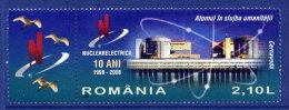 ROMANIA 2008 Nuclear Power Utility   MNH / **.  Michel 6331 - 1948-.... Republics