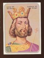 Image / Louis VII Le Jeune / Portrait / Roi Couronné / Histoire De France  // IM 14/31 - Alte Papiere