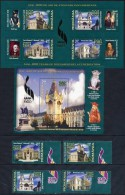 ROMANIA 2008 600th Anniversary Of Iasi Set Of 4 + 2 Blocks  MNH / **.  Michel  6319-22, Blocks 437-38 - 1948-.... Republics
