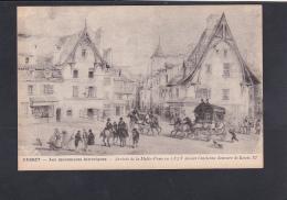 CUSSET - ARRIVEE DU MALLE POSTE 1828 - France