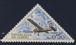 Congo Brazzaville 1961 Mi T2 Yv T35 ** Holste Broussard Monoplane - Plane / Avion / Flugzeug / Vliegtuig - Post