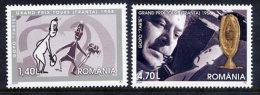 ROMANIA 2008 Grand Prix Tours 1958 Set Of 2 MNH / **.  Michel 6309-10 - 1948-.... Republics