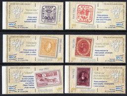ROMANIA 2008 EFIRO Philatelic Exhibition  Set Of 6  MNH / **.  Michel 6299-304 - 1948-.... Republics