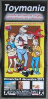 Margerin - Lucien Goldorak Train Avion ... Affiche Pub Toymania 2013 - Affiches & Offsets