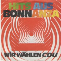 Dieter Thomas Heck U. Herr B.aus Bonn : NEUES AUS BONNanza / CDU - Resco 77524 - Disco, Pop