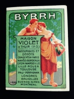 Très Joli Mini Calendrier BYRRH 1922 Illustrateur Camps LITH SIRVEN - Petit Format : 1921-40