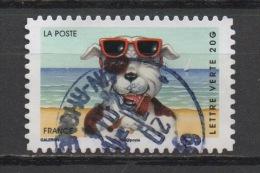 FRANCE : 2014 Oblitéré : VACANCES Cachet Rond - France