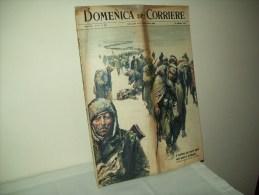 """Domenica Del Corriere (1963) N. 6  """"Il Dramma Dei Nostri Alpini Vent'anni Fa In Russia"""" - Libri, Riviste, Fumetti"""