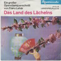 Operettenquerschnitt Von Franz Lehar  :  Das Land Des Lächelns 1 /  Das Land Des Lächelns 2/ Baccarola 40 224 - Disco & Pop