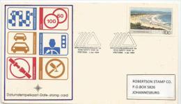Road Safety - Sécurité Routière , En Afrique Du Sud, Carte Adressée à Johannesburg - Accidentes Y Seguridad Vial