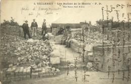 Villeret Les Ruines De La Mairie - Sonstige Gemeinden
