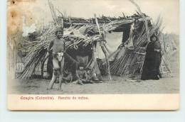 GOAGIRA - Rancho De Indios. (voir Cachet Agence Postal Et Cachets Au Dos De La Carte) - Colombie