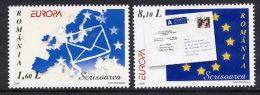 ROMANIA 2008 Europa Set Of 2 MNH / **.  Michel 6294-95 - 1948-.... Republics
