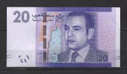 Billet De SM Le Roi Mohamed VI. 20Dhs. (Voir Commentaires) - Marokko