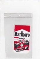 Marlboro Monaco 1981 - Car Racing - F1