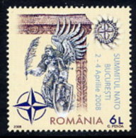 ROMANIA 2008 NATO Summit MNH / **.  Michel 6281 - 1948-.... Republics