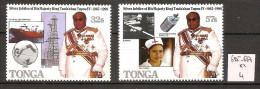 Tonga 685-687 ** Côte 4 € - Tonga (1970-...)