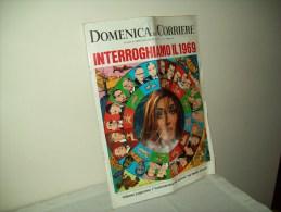 """Domenica Del Corriere (1969) N. 2  """"Interroghiamo Il 1969"""" - Libri, Riviste, Fumetti"""