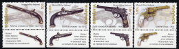ROMANIA 2008 Antique Firearms Set Of 4  MNH / **.  Michel 6269-72 - 1948-.... Republics